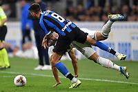 Emre Can of Juventus , Matias Vecino of FC Internazionale <br /> Milano 6-10-2019 Stadio Giuseppe Meazza <br /> Football Serie A 2019/2020 <br /> FC Internazionale - Juventus FC <br /> Photo Andrea Staccioli / Insidefoto