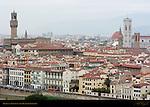 Palazzo Vecchio and Giotto Campanile View from Monte alla Croci Florence