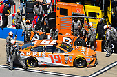 Monster Energy NASCAR Cup Series<br /> GEICO 500<br /> Talladega Superspeedway, Talladega, AL USA<br /> Sunday 7 May 2017<br /> Daniel Suarez, Joe Gibbs Racing, ARRIS Toyota Camry<br /> World Copyright: Nigel Kinrade<br /> LAT Images<br /> ref: Digital Image 17TAL1nk05920