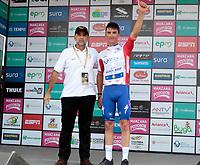 El TAMBO -RISARALDA - COLOMBIA, 9-02-2018:El ciclista francés Julián Alaphilippe ganó a cuarta etapa de la Carrera internacional de ciclismo  Oro y  Paz./ French cyclist Julián Alaphilippe won the fourth stage of the International Race Oro y Paz . Photo: VizzorImage/ Santiago Osorio / Contribuidor