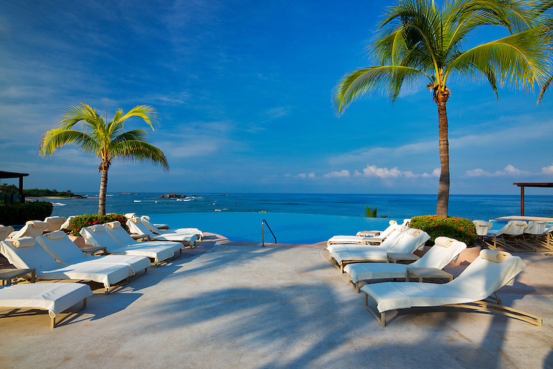 Pool at Four Seasons. Punta Mita, Mexico.