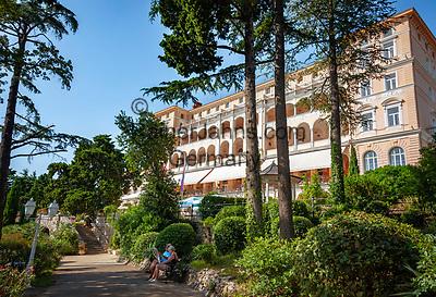 Croatia, Kvarner Gulf, Crikvenica: 4-star-hotel Kvarner Palace   Kroatien, Kvarner Bucht, Crikvenica: 4-Sterne-Hotel Kvarner Palace