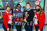 Presentation Secondary School Tralee students celebrating Christmas Jumper Day on Friday. L to r: Blaithnaid McCarthy, Kerry Oba, Emma Smith O'Connor and Lorna Daly.