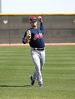 Austen Wade - Cleveland Indians 2018 spring training (Bill Mitchell)
