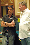 Joe Hachem and Mike Sexton chat.