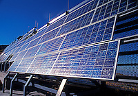 SOLAR PANELS for generating ELECTRICITY to POWER an outlook and communications station in the high SIERRA - CALIFORNIA