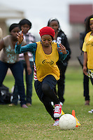 MELBOURNE, AUSTRALIA - June 13, 2010. Liberian Family Day at Selwyn Park, Albion. Photo by Sydney Low / Football Federation Victoria