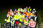 They began with 8 and within 4 weeks the Brandon/Cloghane, Tuesday and Thursday walking group has grown lots of legs with 32 members now, pictured on Tuesday night near Brandon.