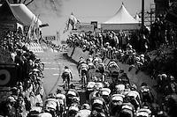 up the infamous Mur de Huy (1300m/9.8%)<br /> <br /> Women's Flèche Wallonne 2016