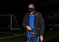 Bolton Wanderers' Reiss Greenidge arriving at the stadium <br /> <br /> Photographer Andrew Kearns/CameraSport<br /> <br /> EFL Papa John's Trophy - Northern Section - Group C - Bolton Wanderers v Newcastle United U21 - Tuesday 17th November 2020 - University of Bolton Stadium - Bolton<br />  <br /> World Copyright © 2020 CameraSport. All rights reserved. 43 Linden Ave. Countesthorpe. Leicester. England. LE8 5PG - Tel: +44 (0) 116 277 4147 - admin@camerasport.com - www.camerasport.com