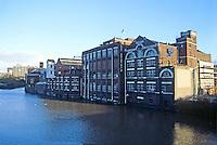 Bristol: Courage Brewery, floating drydock. Photo '90.
