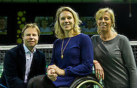 Rotterdam, The Netherlands, Februari 12, 2016,  ABNAMROWTT, contract with Esther Vergeer Foundation<br /> Photo: Tennisimages/Henk Koster