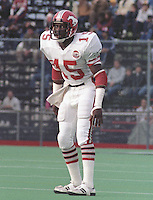 Ron Hopkins Calgary Stampeders 1984. Copyright photograph Scott Grant