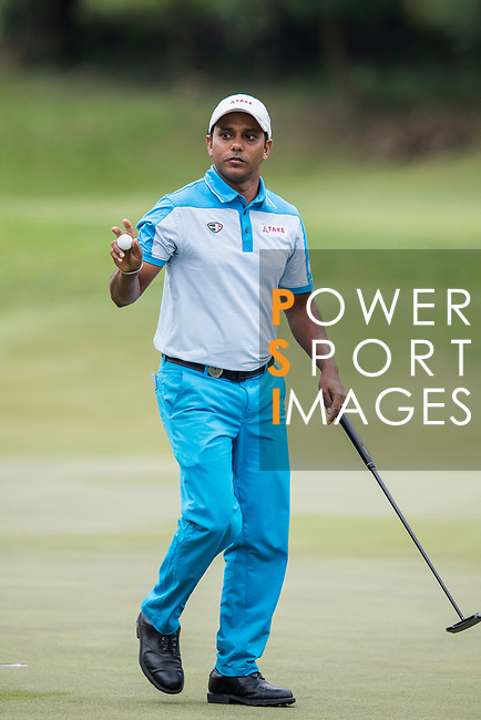 S.S.P. Chawrasia of India plays during the day two of UBS Hong Kong Open 2017 at the Hong Kong Golf Club on 24 November 2017, in Hong Kong, Hong Kong. Photo by Yu Chun Christopher Wong / Power Sport Images