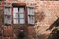 Europe/France/Limousin/19/Corrèze/Collonges-la-Rouge : Maison du comédien Maurice Biraud