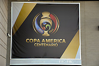 East Rutherford, NJ - Friday June 17, 2016: Signage prior to a Copa America Centenario quarterfinal match between Peru (PER) vs Colombia (COL) at MetLife Stadium.