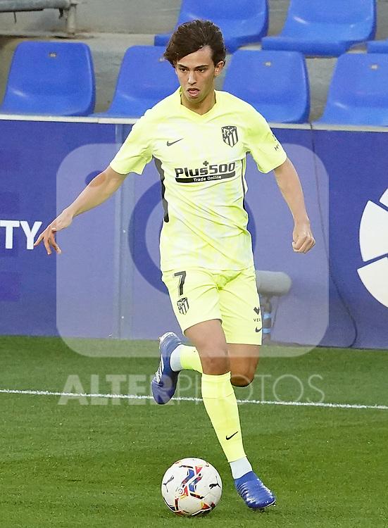 Atletico de Madrid's Joao Felix during La Liga match. September 30,2020. (ALTERPHOTOS/Acero)