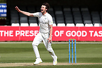 Ed Barnard of Worcestershire appeals for a wicket during Essex CCC vs Worcestershire CCC, LV Insurance County Championship Group 1 Cricket at The Cloudfm County Ground on 9th April 2021