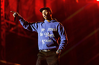 HOUSTON, TEXAS - NOVEMBER 09: Pharrell Williams performs during the second annual Astroworld Festival at NRG Park on November 9, 2019 in Houston, Texas. Photo: Trish Badger/imageSPACE/MediaPunch
