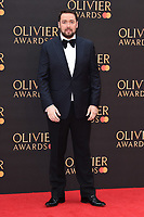 Jason Manford<br /> arriving for the Olivier Awards 2019 at the Royal Albert Hall, London<br /> <br /> ©Ash Knotek  D3492  07/04/2019