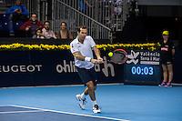 VALENCIA, SPAIN - OCTOBER 28: Radek Stepanek during Valencia Open Tennis 2015 on October 28, 2015 in Valencia , Spain