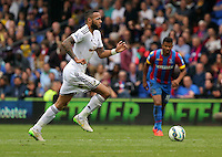 Pictured: Kyle Bartley of Swansea<br /> Re: Premier League match between Crystal Palace and Swansea City at Selhurst Park on May 24, 2015 in London, England, UK