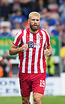Ross County v St Johnstone…31.07.21  Global Energy Stadium<br />Shaun Rooney<br />Picture by Graeme Hart.<br />Copyright Perthshire Picture Agency<br />Tel: 01738 623350  Mobile: 07990 594431