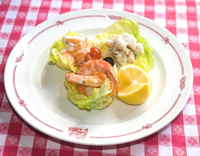 Seafood Salad, Cape Cod Room, Chicago, Illinois