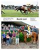 Razzle Jazil winning at Delaware Park racetrack on 6/21/14