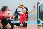 Jolan Wong, Rio 2016 - Sitting Volleyball // Volleyball Assis.<br /> Canada's Womens Sitting Volleyball team plays a practice match vs Team USA // L'équipe canadienne féminine de volleyball assis joue un match d'entraînement contre l'équipe américaine. 06/09/2016.