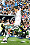 Real Madrid´s Chicharito during 2014-15 La Liga match between Real Madrid and Eibar at Santiago Bernabeu stadium in Madrid, Spain. April 11, 2015. (ALTERPHOTOS/Luis Fernandez)