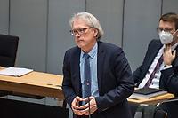 Plenarsitzung des Berliner Abgeordnetenhaus am Donnerstag den 14. Januar 2021.<br /> Im Bild: Finanzsenator Matthias Kollatz (SPD).<br /> 14.1.2021, Berlin<br /> Copyright: Christian-Ditsch.de