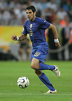 Simone Perrotta.  Italy defeated Germany, 2-0, in overtime in their FIFA World Cup semifinal match at FIFA World Cup Stadium in Dortmund, Germany, July 4, 2006.