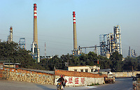 Sinopec Petro Chemical Plant in Guangzhou, China..