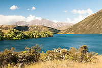 Alpine Lake Pearson on Arthur's Pass Road, Canterbury, New Zealand