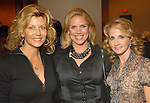 From left: Susan Plank, Amy Lee and Sharin Gaille at the Saks Fifth Avenue Fashion Show and Luncheon at the Nutcracker Market Thursday Nov. 12,2009. (Dave Rossman/For the Chronicle)