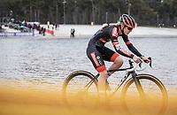 Laura Verdonschot (BEL/Pauwels Sauzen-Bingoal)<br /> <br /> Women's elite Race <br /> Zilvermeercross Mol (BEL) 2021<br /> <br /> ©Kramon