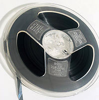 BNPS.co.uk (01202 558833)<br /> Pic OmegaAuctions/BNPS<br /> <br /> A previously-unheard demo tape in which David Bowie lambastes a studio guest for having 'loud feet' that ruined one of his takes has been unearthed.<br /> <br /> The boxed reel of 7ins tape dates back to December 1966 when a young Bowie was recording his first album.<br /> <br /> During his attempts to record 'Please, Mr Gravedigger' Bowie breaks off to slam an anonymous guest, telling him tersely 'your feet are too loud'.