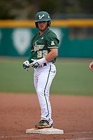USF Bulls pinch hitter Alex Bello (33) during a game against the Dartmouth Big Green on March 17, 2019 at USF Baseball Stadium in Tampa, Florida.  USF defeated Dartmouth 4-1.  (Mike Janes/Four Seam Images)
