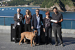Javier Camara, Ricardo Darin, Cesc Gay and Dolores Fonzi pose during the `Truman´ film presentation a 63rd Donostia Zinemaldia (San Sebastian International Film Festival) in San Sebastian, Spain. September 19, 2015. (ALTERPHOTOS/Victor Blanco)