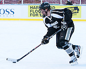 Derek Army (PC - 19) -  - The participating teams in Hockey East's first doubleheader during Frozen Fenway practiced on January 3, 2014 at Fenway Park in Boston, Massachusetts.