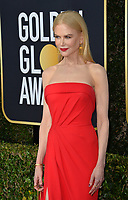 LOS ANGELES, USA. January 06, 2020: Nicole Kidman arriving at the 2020 Golden Globe Awards at the Beverly Hilton Hotel.<br /> Picture: Paul Smith/Featureflash