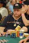 Blind player Hal Lubarsky