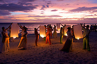 Philippine culture dance troup BORACAY ISLAND PHILIPPINES