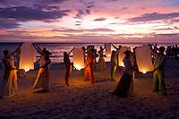 Philippine culture dance troup BORACAY ISLAND PHILIPPINES