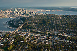 Retro images, Aerial Views of Seattle