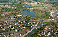 Pueblo, Colorado. The Grove, Arkansas River and Runyon Field. June 2014. 85721