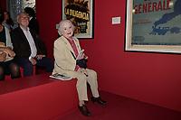 Anna GAYLOR - Vernissage de l'exposition Goscinny - La Cinematheque francaise 02 octobre 2017 - Paris - France