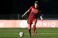 Elena Linari of AS Roma in action during the Women Italy cup round of 8 second leg match between AS Roma and Florentia S.G. at stadio delle tre fontane, Roma, February 14, 2021. Photo Andrea Staccioli / Insidefoto