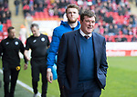 Aberdeen v St Johnstone…29.04.17     SPFL    Pittodrie<br />Saints manager Tommy Wright<br />Picture by Graeme Hart.<br />Copyright Perthshire Picture Agency<br />Tel: 01738 623350  Mobile: 07990 594431